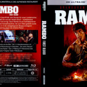 Rambo (1982) R2 German 4K UHD Covers