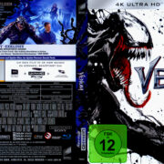 Venom (2018) R2 German 4K UHD Cover