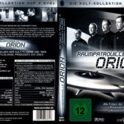 Raumpatrouille Orion (1966) R2 German DVD Covers