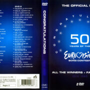 50 Years Eurovision 1956 - 1980 R0 DVD Cover