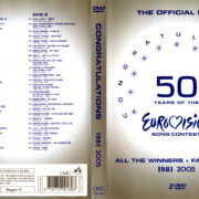 50 Years Eurovision 1981 – 2005 R0 DVD Cover