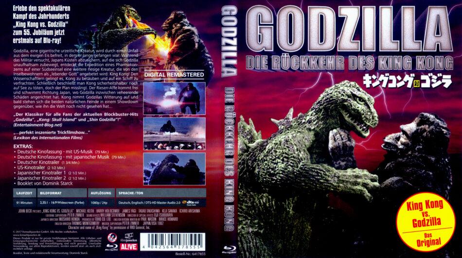 Godzilla - Die Rückkehr des King Kong (1962) R2 german Blu ...