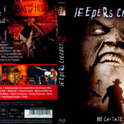 Jeepers Creepers 2 (2003) R2 German Blu-Ray Covers