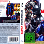 Superman/Batman: Apocalypse (2010) R2 german Blu-Ray Cover
