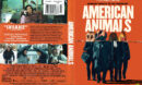 American Animals (2018) R1 DVD Cover