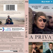 A Private War (2018) R1 Custom Blu-Ray Cover
