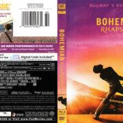 Bohemian Rhapsody (2018) R1 Blu-Ray Cover