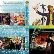 Willy Wonka / Charlie and the Chocolate Factory Double Feature R1 Custom Blu-Ray Cover