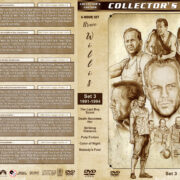 Bruce Willis Filmography - Set 3 (1991-1994) R1 Custom DVD Covers