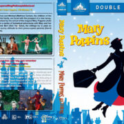 Mary Poppins Double Feature (1964-2018) R1 Custom Blu-Ray Cover