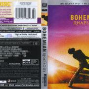 Bohemian Rhapsody (2018) R1 4K UHD Cover & Labels