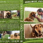 A Dog's Purpose / A Dog's Way Home Double Feature R1 Custom DVD Cover