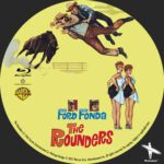 The Rounders (1964) Custom BD Label