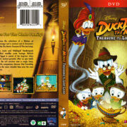 DuckTales the Movie: Treasure of the Lost Lamp (1990) R1 DVD Cover