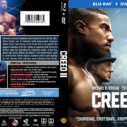 Creed II (2018) R1 Custom Blu-Ray Cover