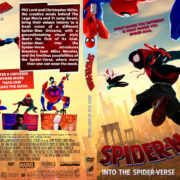 Spider-Man: Into the Spider-Verse (2018) R1 Custom DVD Cover V3
