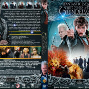 Fantastic Beasts: The Crimes of Grindelwald (2018) R1 Custom DVD Cover V4