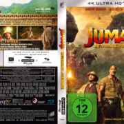 Jumanji: Welcome to the Jungle (2017) R2 4K UHD German Cover