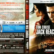 Jack Reacher: Never Go Back (2016) R2 4K UHD German Cover