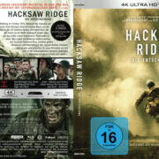 Hacksaw Ridge (2016) R2 4K UHD German Cover