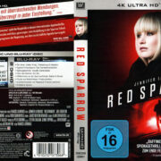 Red Sparrow (2018) R2 4K UHD German Cover