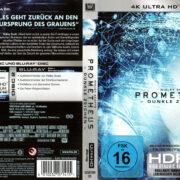 Prometheus – Dunkle Zeichen (2012) R2 4K UHD German Cover