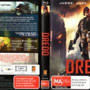 Dredd (2012) R4 Blu-Ray Cover