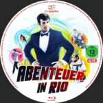 Abenteuer in Rio (1964) Custom German BD Label
