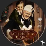 A Christmas Carol (1938) Custom BD Label