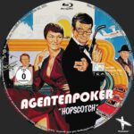 Agentenpoker (1980) Custom German BD Label