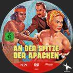 An der Spitze der Apachen (1952) Custom German DVD Label
