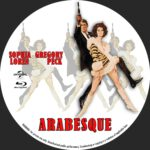 Arabesque (1966) Custom BD Label