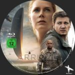 Arrival (2016) Custom German DB Label