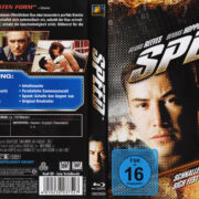 Speed (1994) R2 German Blu-Ray Covers & label
