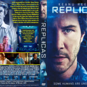 Replicas (2019) R1 Custom DVD Cover