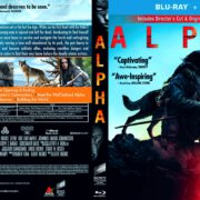 Alpha (2018) R1 Custom Blu-Ray Cover