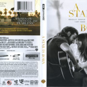 A Star Is Born (2018) R1 4K UHD Cover & Labels