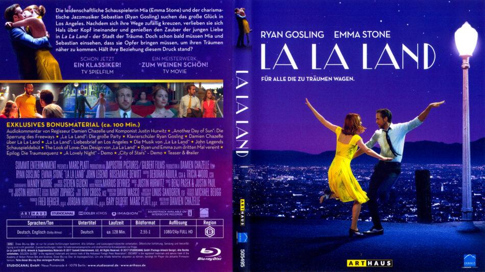 La La Land 2016 R2 German Blu Ray Covers Dvdcover Com