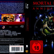 Mortal Kombat 2 – Annihilation (1997) R2 German Blu-Ray Cover