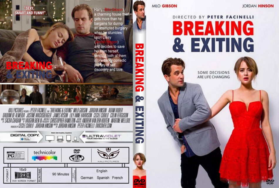 Breaking Exiting (2018) R0 Custom DVD Cover - DVDcover.Com