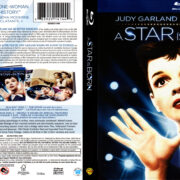 A Star Is Born (1954) R1 Blu-Ray Cover & Labels