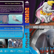 Dumbo Double Feature (1941-2019) R1 Custom Blu-Ray cover