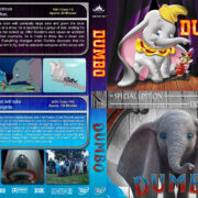 Dumbo Double Feature (1941-2019) R1 Custom DVD Cover