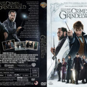 Fantastic Beasts: The Crimes of Grindelwald (2018) R1 Custom DVD Cover