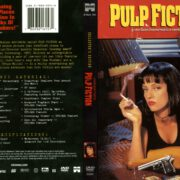 Pulp Fiction (1994) R1 DVD Covers & Label