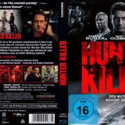Hunter Killer (2019) R2 German Custom Blu-Ray Covers