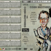 The Coen Brothers Collection - Volume 1 (1984-1996) R1 Custom DVD Covers