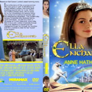 Ella Enchanted (2004) R0 Custom DVD Cover