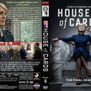 House of Cards – Season 6 (2018) R1 Custom DVD Cover & Labels