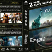 Cloverfield Double Feature (2008-2018) R1 Custom Blu-Ray Cover